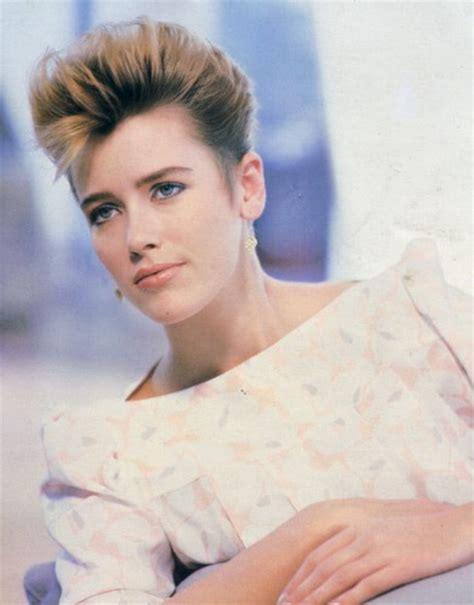 short 80 blown back hair styles women 80s short hairstyles women