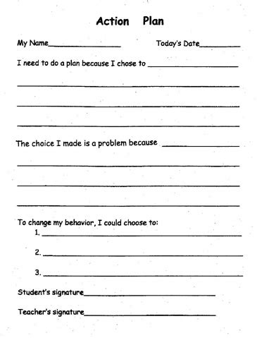 behaviour guidance plan template pbis plan template ed 351 behavior management plan