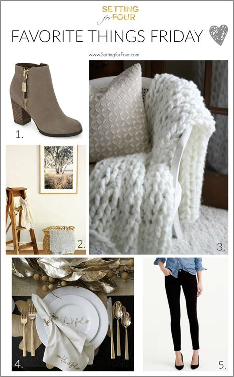 Friday Fashion Fav The It Lists Fashion Finds by Favorite Things Friday Fashion Food Setting