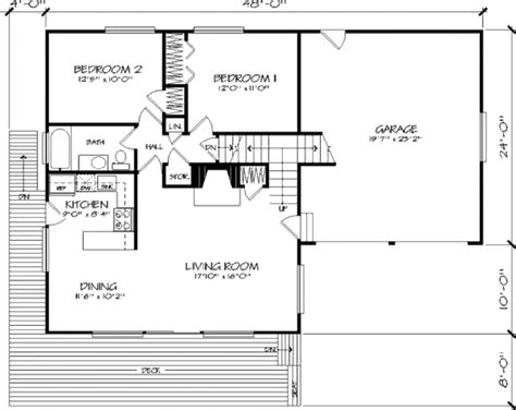 320 square feet cabin style house plan 5 beds 2 baths 1719 sq ft plan