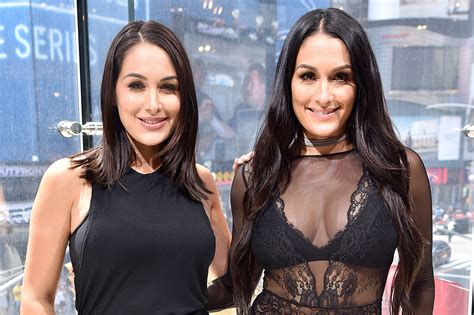 nikki bella and brie bella nikki bella brie bella facts video the daily dish