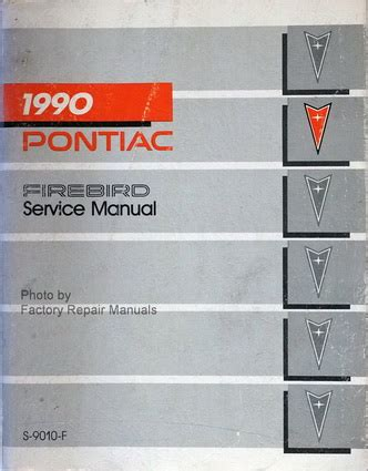 how to download repair manuals 1989 pontiac firebird head up display 1990 pontiac firebird factory service manual formula trans am gta shop repair ebay
