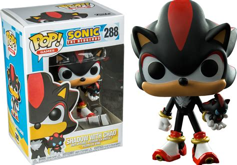Kitchen Collectables Sonic The Hedgehog Shadow With Chao Funko Pop Vinyl