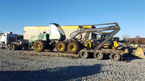 complete forestry equipment shipping services from heavy