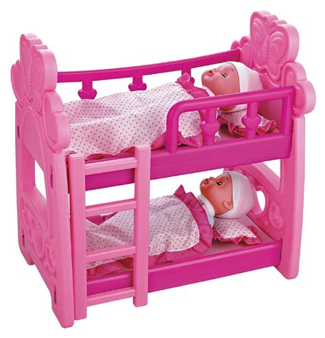 baby doll houses childrens kids pretend play baby dolls doll house bedroom bunk bed crib toy ebay