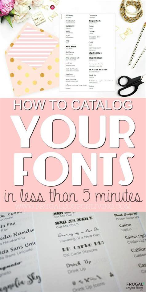 Printable Font Catalog   best 25 catalog ideas on pinterest catalog design
