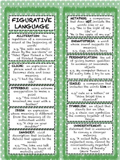 printable quiz on literary devices teachingisagift figurative language bookmarks manic