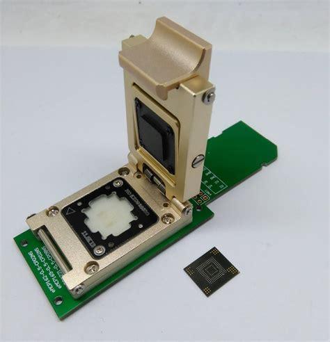 Plat Emmc Bga 5 In 1 pogo pin emmc socket to sd adapter size 11x13 5mm for bga 153 and bga 169 emmc programmer in