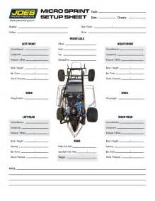 Race Car Setup Sheet Template by Chassis Setup Sheets Pictures To Pin On Pinsdaddy