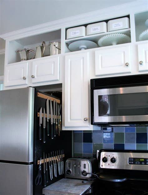 dead space appliances and cabinet space on pinterest