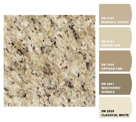 giallo ornamental granite countertops and paint colors on