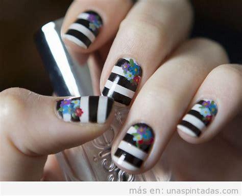 imagenes de uñas blancas y negras blanco y negro archivos u 241 as pintadas