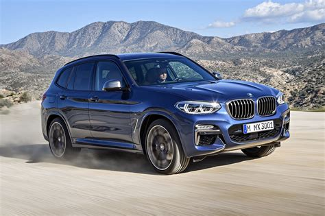 first bmw 2018 bmw x3 first look motor trend