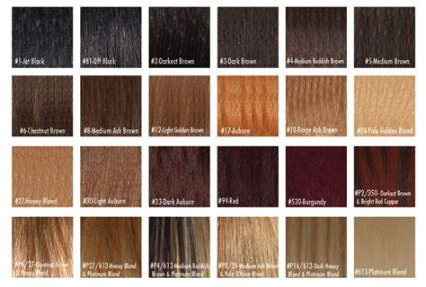 hair extension color chart hairextensionstore just another site