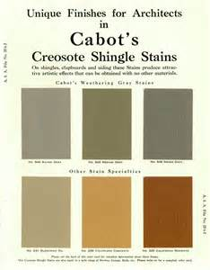 cabot stain colors six early colors of cabot shingle stain tahoe tones