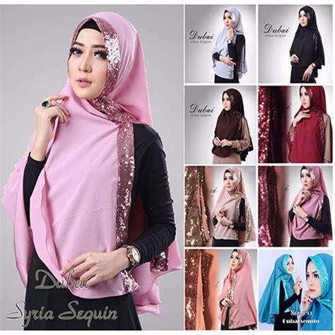 Jilbab Syari Terbaru Khimar Sabrina jilbab khimar dubai sequin bundaku net