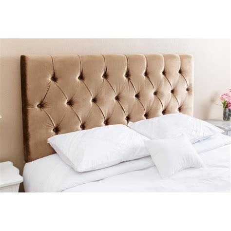 gold tufted headboard abbyson living dakota queen full tufted headboard in gold