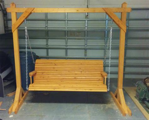 homemade porch swing free porch swing plans how to build a garden swing