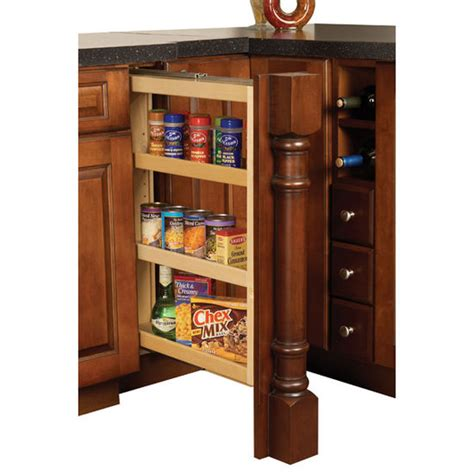 kitchen cabinet filler hafele kitchen base cabinet pull out filler organizer ebay