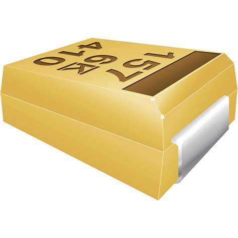 kemet t491b476k010at 47 181 f 177 10 10v smd tantalum capacitor b rapid