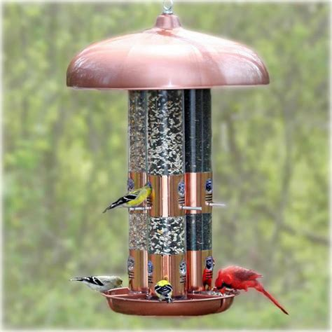 Copper Bird Feeders Pet 7103 2 Copper Finish