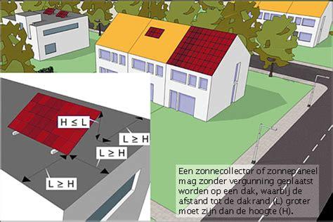 plaatsen zonnepanelen erfgrens plat dak zonnepanelen provincie utrecht
