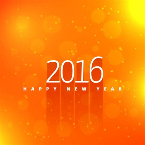 new year orange picture happy new year in orange background vector free