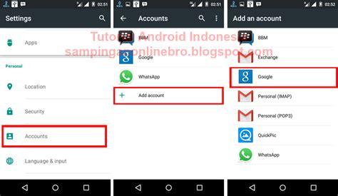 cara membuat akun google clash of clans trik bermain 2 akun clash of clans di satu android yang sama