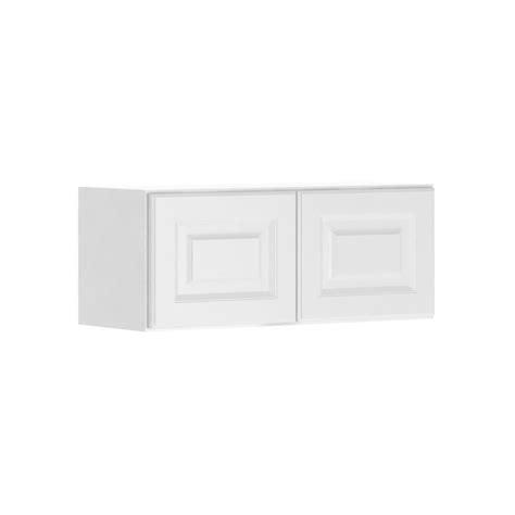 assembled 30x12x12 in wall bridge kitchen cabinet in hton bay madison assembled 30x12x12 in wall bridge