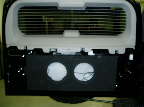hummer h2 subwoofer box sub box hummer forums by elcova