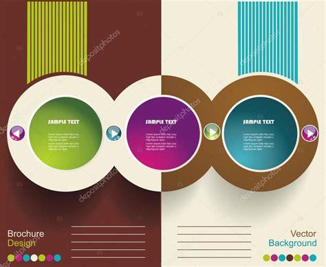 layout design in vector vector brochure layout design template stock vector