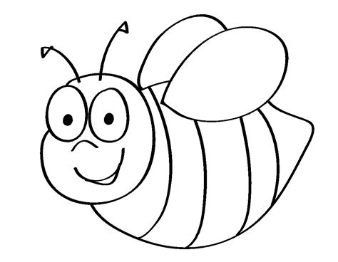 bee color coloring pages of honey bees coloring home