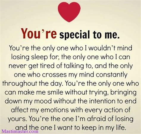 Are You The One For Me you are special to me quotes for whatsapp masti
