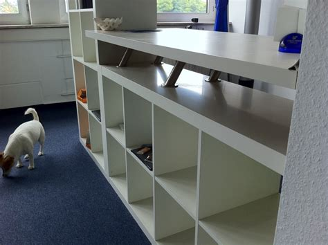 Reception Counter For The Office Ikea Hackers Clinic Ikea Reception Desk Ideas