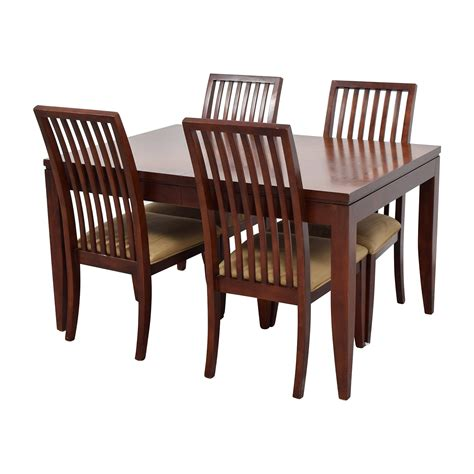 Four Chair Dining Set 84 Macy S Macy S Metropolitan Dining Set With Four Chairs Tables