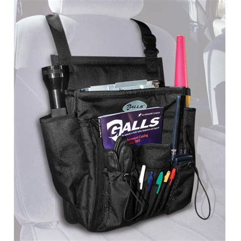 galls deluxe soft sided seat organizer at galls