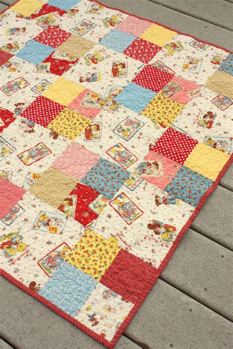 That Quilt by Simple Four Patch Baby Quilt