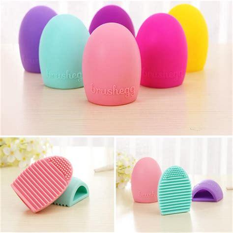 Pembersih Kuas Brush Cleanser Egg Cleanser brushegg silicone brush cleaning egg brush egg cosmetic brush cleanser make up makeup brush