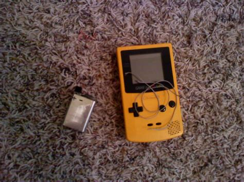 game boy color battery mod how to make a gameboy color rechargeable 2