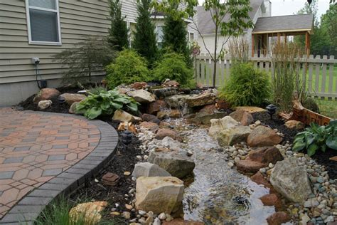 Outdoor Water Features Green Guys Backyard Water Feature