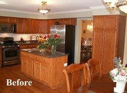 updating oak kitchen cabinets hinsdale cabinets refacer oakbrook kitchen cabinet