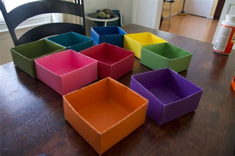 How To Make Paper Drawers - get organized make your own diy drawer organizer