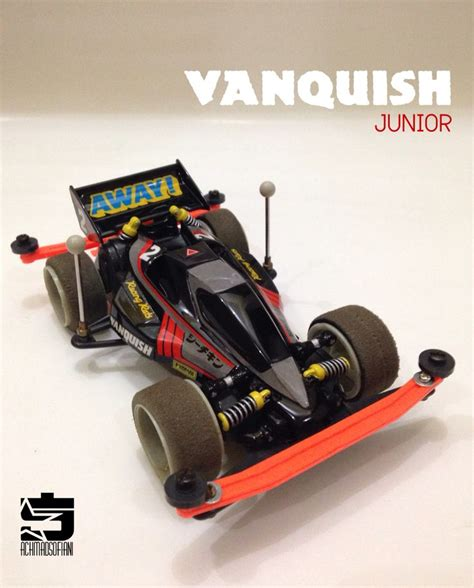 Tamiya Vanguish Jr Mic Series Type 5 Chassis vanquish jr mini4wd tamiya mini 4wd racing series nu est jr