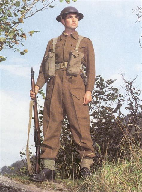 Ww2 British Soldier Uniform | british world war ii and british army uniform on pinterest