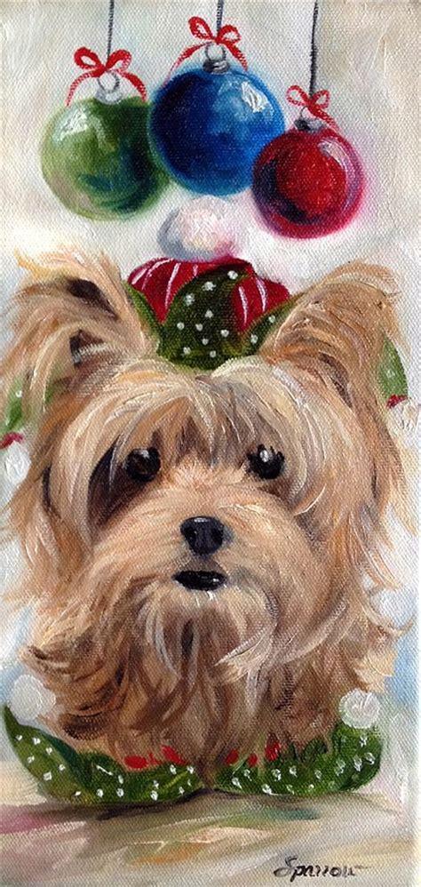 yorkie gift sparrow terrier gift yorkie ornaments ebay