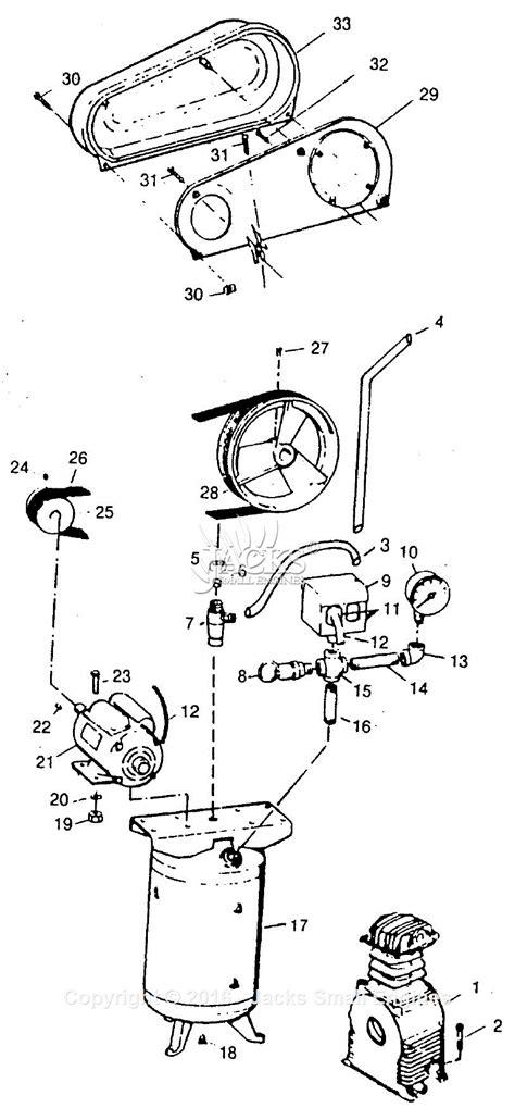 cbell hausfeld hl7017 parts diagram for air compressor parts