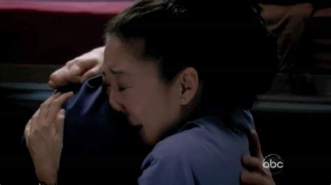 how to comfort a crying man cristina and owen 6x21 comforting scene youtube