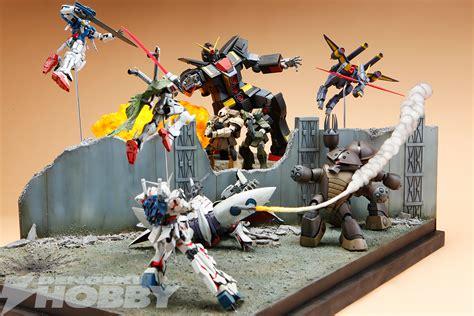 Diorama Gundam Gunpla gundam diorama front poster gunpla version gundam kits collection news and reviews