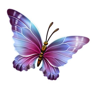 image purple and blue transparent butterfly clipart.png