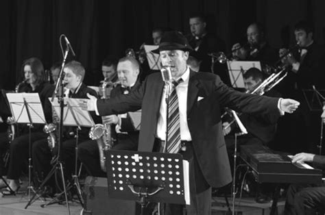 Swing Band Instruments Uk Big Band Sinatra Vocalist For Hire Weddings